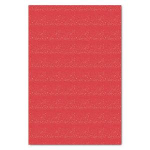 "Brick Red Fleck Pattern 10"" X 15"" Tissue Paper"