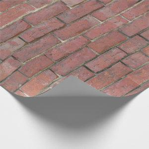 Brick Wall Pattern Wrapping Paper