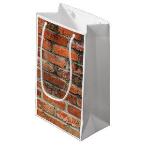 Brick Wall Small Gift Bag