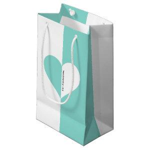 Bride & Co Forever You & Me Bridal Shower Party Small Gift Bag