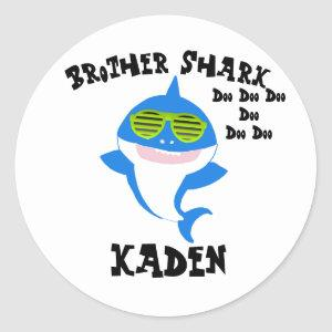 Brother Shark Stickers