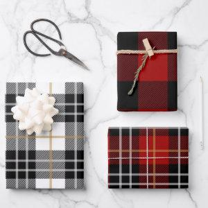 Buffalo Plaid Pattern Wrapping Paper Sheets