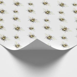 Bumble Bee Wrapping Paper Gift Wrap