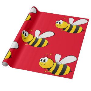 Bumblebee Wrapping Paper