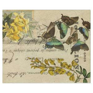 Butterfly French  Decoupage posters Wrapping Paper