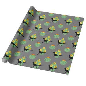 Cacti And Roadrunners Wrapping Paper