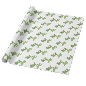 Cacti Party Wrapping Paper