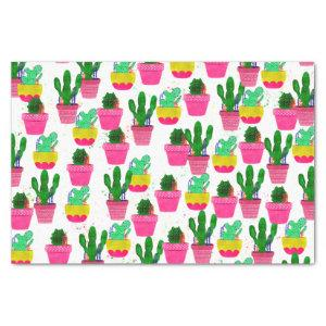 Cactus and Succulents Watercolor Tissue Paper