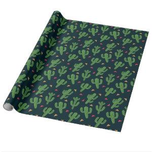 Cactus Fiesta Wrapping Paper