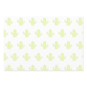 Cactus Wrapping Wrapping Paper Sheets