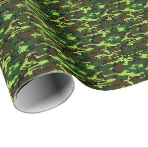 Camouflage (jungle green) ~ wrapping paper