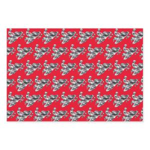 Camouflage Snowmobile Wrapping Paper Sheets