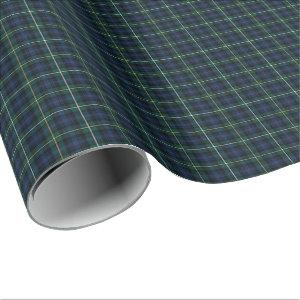 Campbell of Argyll Clan Tartan Wrapping Paper