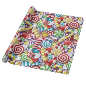 Candyland Wrapping Paper