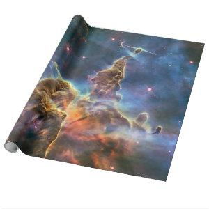 Carina Nebula by the Hubble Space Telescope Wrapping Paper
