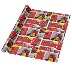 Cars 3 | Lightning McQueen Go 95 Pattern Wrapping Paper