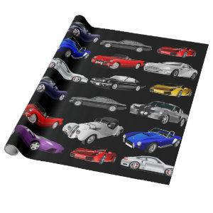 Cars, Cars & Cars Wrapping Paper