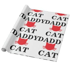 Cat Dad Wrapping Paper