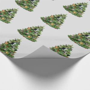Cats in Tree Wrapping Paper