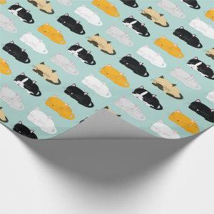 Cats Pattern Wrapping Paper