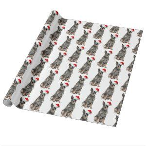 Cattle Dog Christmas Gift Wrap