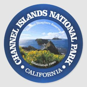 Channel Islands National Park (2) Classic Round Sticker