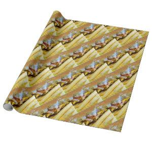 Cheeseburger and Fries Wrapping Paper