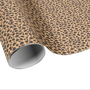 Cheetah Animal Print Wrapping Paper