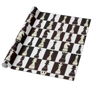 Chess Board Black and White Pattern
