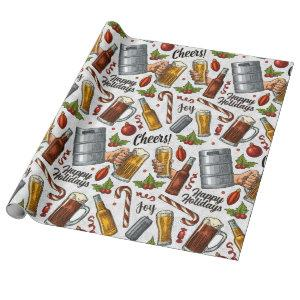 Christmas Cheers Wrapping Paper