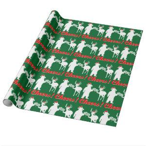 Christmas Cheers ! Wrapping Paper