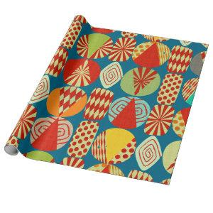 Christmas Decorations Wrapping Paper