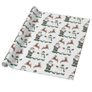 Christmas Design,  Holiday Wrapping Paper