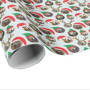 Christmas Dog Photo Gift Wrap
