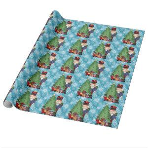 Christmas Nutcracker Holiday wrapping paper