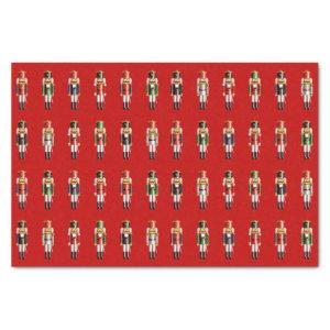 Christmas Nutcrackers Tissue Paper