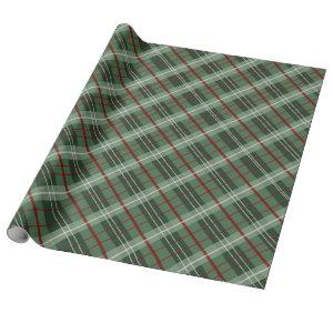 Christmas Plaid Wrapping Paper