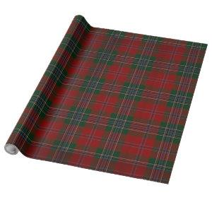 Christmas Red Plaid Wrapping Paper