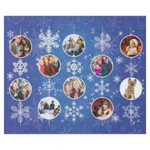Christmas Snowflakes 10 Favorite Family Photos Wrapping Paper