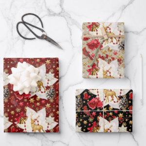 Christmas Sparkle Wrapping Paper Sheets