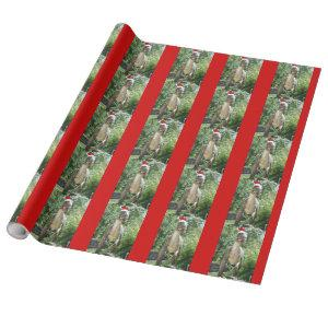 Christmas T-Rex Dinosaur Wrapping Paper