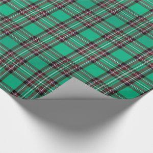 Christmas Tartan Green/Red ID768 Wrapping Paper