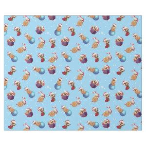 Christmas Tiny Little Sloths Wrapping Paper