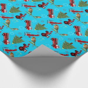 Christmas toys | wrapping paper