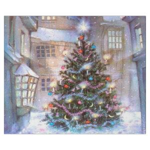 Christmas Tree Vintage Wrapping Paper