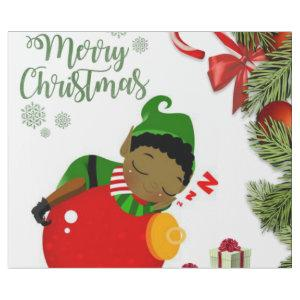 Christmas Wrapping Paper African Elf