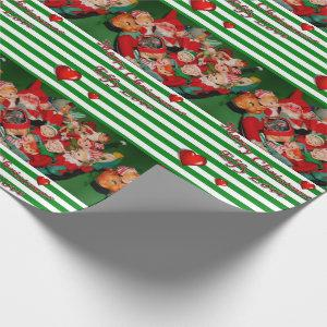 Christmas Wrapping Paper Elf