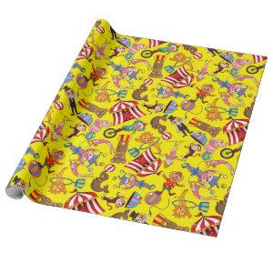 Circus Big Top Wrapping Paper