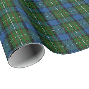Clan Ferguson Fergusson Scottish Tartan Wrapping Paper