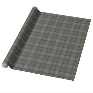 Clan Fraser Hunting Tartan Wrapping Paper